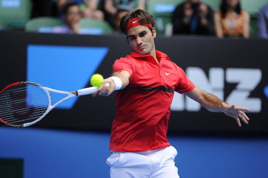 テニスにおける軸