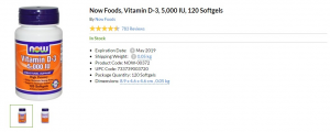 vitamin d iherb