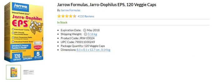Jarro-Dophilus iherb